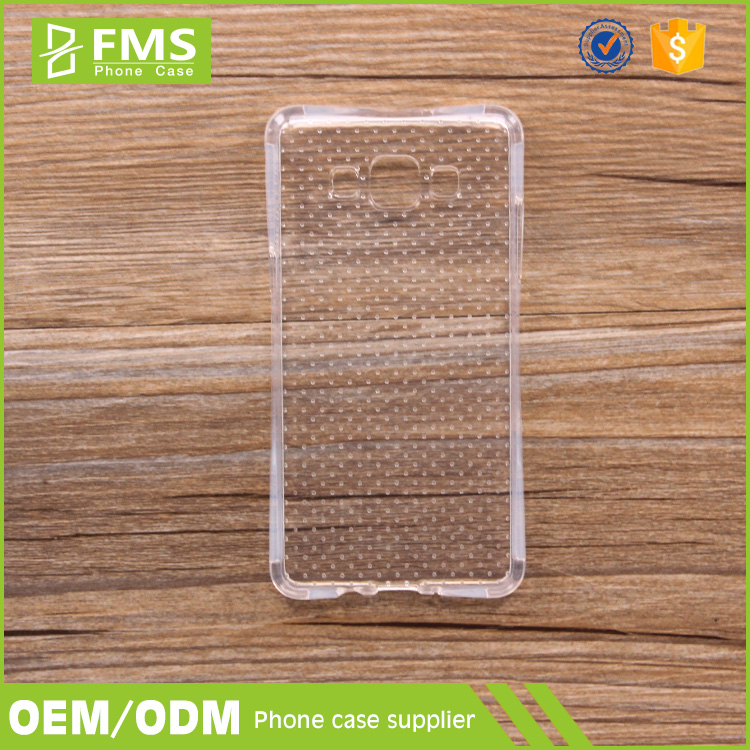 Soft Transparent TPU Bumper Back Cover Case For Samsung Galaxy Ace Plus S7500 Phone Case