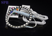 Factory supply new arrival universal fit rgb angel eyes led daytime running light for Aston Martin