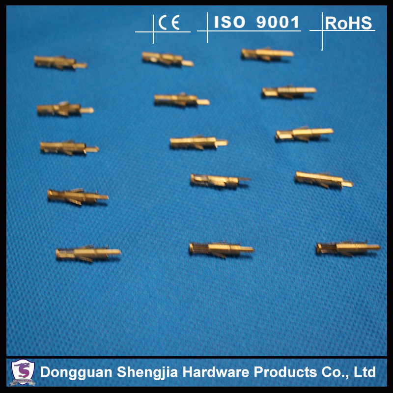 China hardware fittings type brass connectors