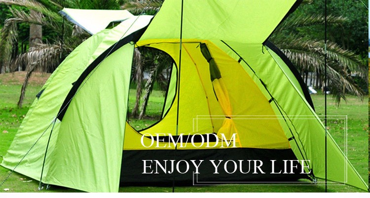 High Quality Best Solor Power Outdoor Camping Tent For Family