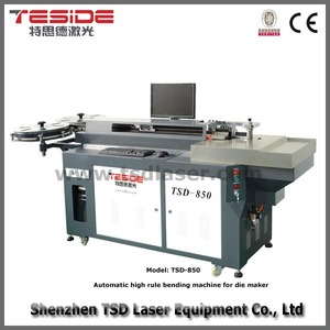 Automatic 23 8mm - 50mm steel rule die bending machine TSD-850