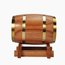 Custom design mini wooden whiskey wine beer coffee barrel