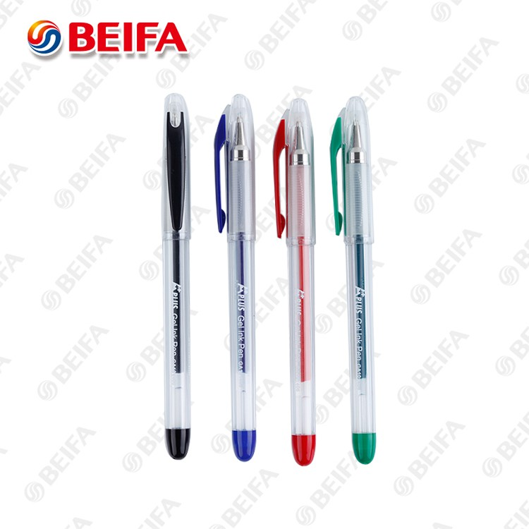 GA101406 Practical Multi Colored gel pen with beautiful design