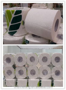 Cheap soft standard roll recycled pulp wholesale bulk toilet paper tissue