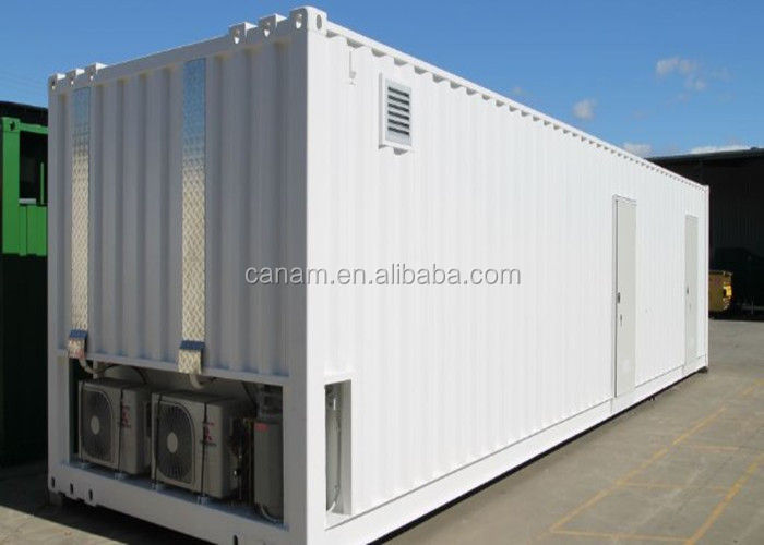 Convenient Modified Steel Shipping Containers Movable Kitchen For Disaster area