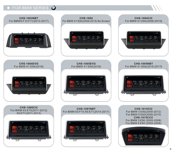 Sconto Car Audio di trasporto Per BMW 5 E60 2005 2006 2007 2008 CCC Sistema