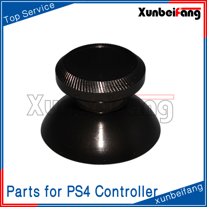 Aluminum Thumbstick for PS4 Controller Parts Black