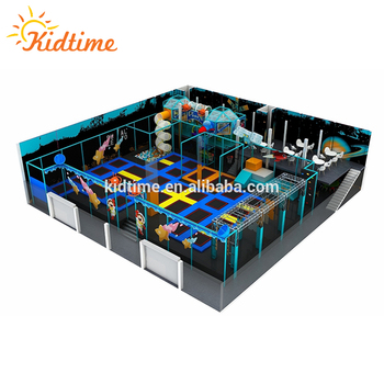Salto wenzhou jumpsport sport fitness bambini trampolino commerciale