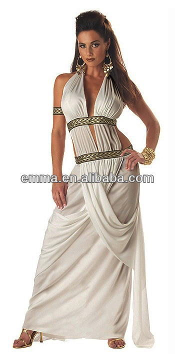 Sexy Spartan Queen Roman Greek Toga Goddess Women Costume Bw434 ... f32dfc285