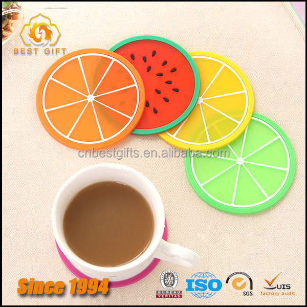 Popular PVC Hot Silicon Coffee Drink Pad
