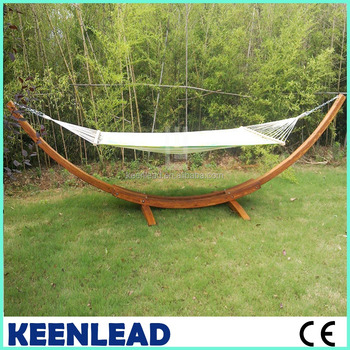 Cheap Wood Arc Hammock Stand With 2 Person Polyester Fabric Hammock Buy Hammock Combocheap Wood Arc Hammock Stand Hammockwood Hammock Stand