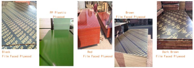 5 X 10 China Hardwood Core Construction Shuttering