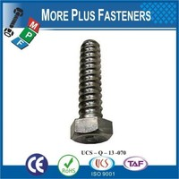 Made in Taiwan Economical Coil Anchor Bolt with Hexagon Head Carbon Steel