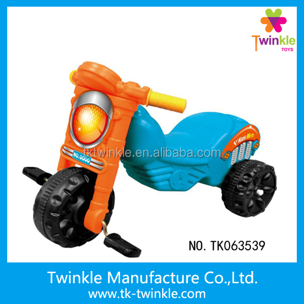 Popular children tricycle kids 3 wheeler pedal car