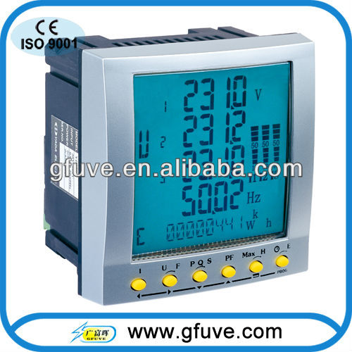 Electronic Test and Measurement Instrument,electric digital power m,digital power factor meter,FU2200 three phase power analyzer