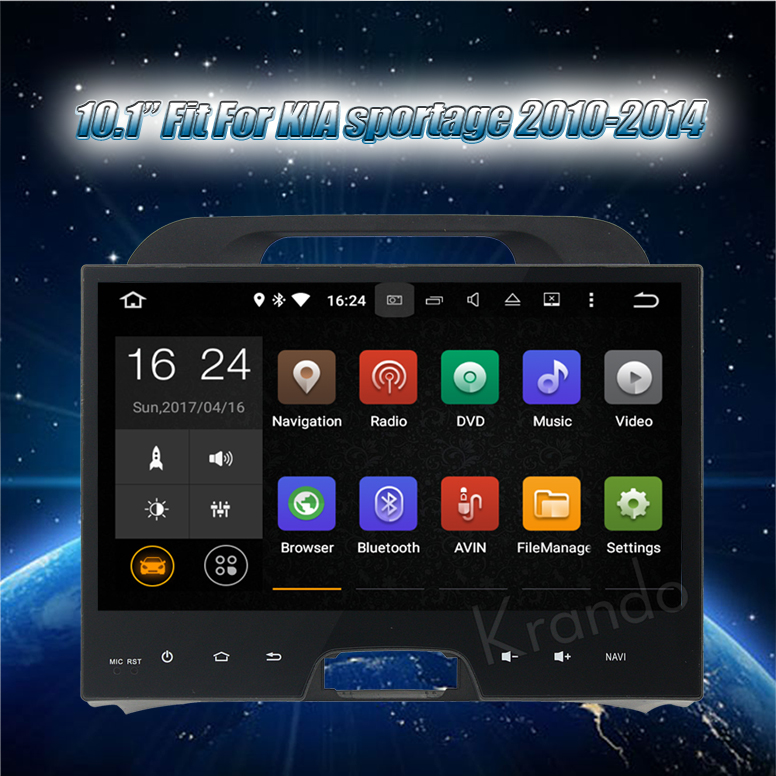 touch screen car dvd gps for kia sportage