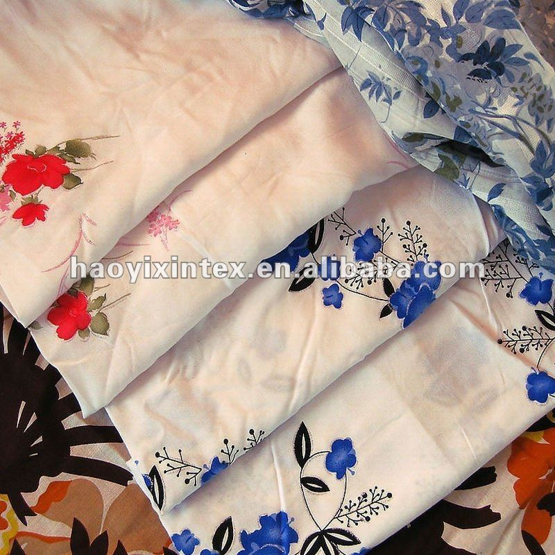 Cheap and Fine 75D Silk-like Polyester Printed Chiffon