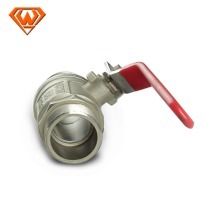 brass ball valve with plastic check valve