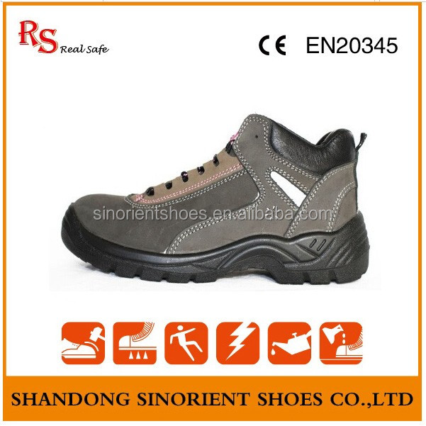 S3 CE certificate Anti slip safety boots shoe ,pu injection safety boots steel toe ,safety shoe in penang RS211