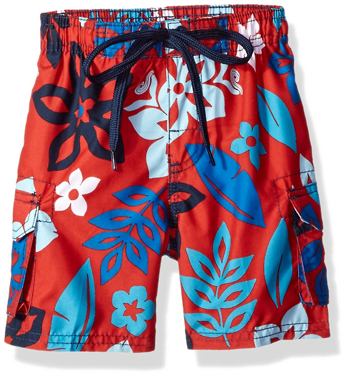 2a773f491d233 Get Quotations · Kanu Surf Boys' Revival Floral Quick Dry Beach Board  Shorts Swim Trunk