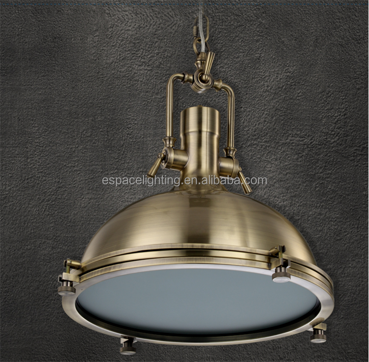 metal Loft retro ball shade Chandeliers industrial pendant lamp/light/linghting