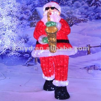 Funny shape santa claus for christmas decorations for H m christmas decorations