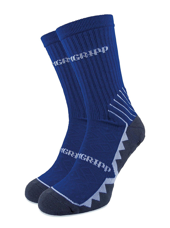 6c432e7c6 PREMGRIPP Premgripp CALF Socks ROYAL BLUE with white trim Young Adult Shoe  Size 2-6