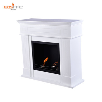 New Arrival White Bio Ethanol Fireplace Fuel Home Depot View