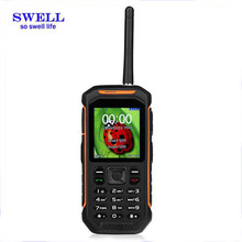Factory Rugged Mobile sos phone X6 IP67 Waterproof gps walkie talkie anti-shock techno mobile phone range rover