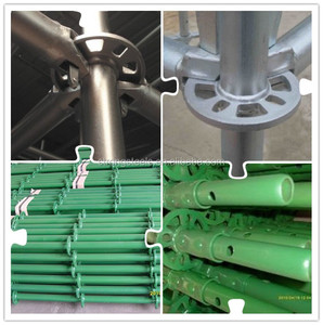 Hot dip galvanized ringlock scaffolding for bridge and high-rise building