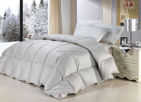 Single Size Cotton Down Duvet / Comforter with white Duck Down , Washed Breathable Comforter for home & hotel