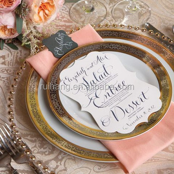 Pink And Gold Table Setting Great To Use And Change Color For