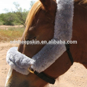 High Quality Sheepskin Horse Rope Horse Bridle