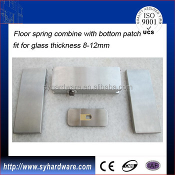 Self Closing Hydraulic Glass Patch Fitting Buy Unica The