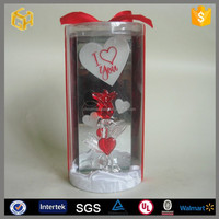 Happy Valentine Glass Rose, Happy Valentine Glass Rose Suppliers And  Manufacturers At Alibaba.com