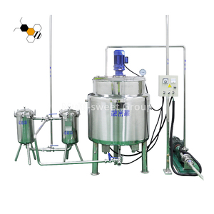 Honey bee stick filling filtering equipment machine honey processing line machine for sale