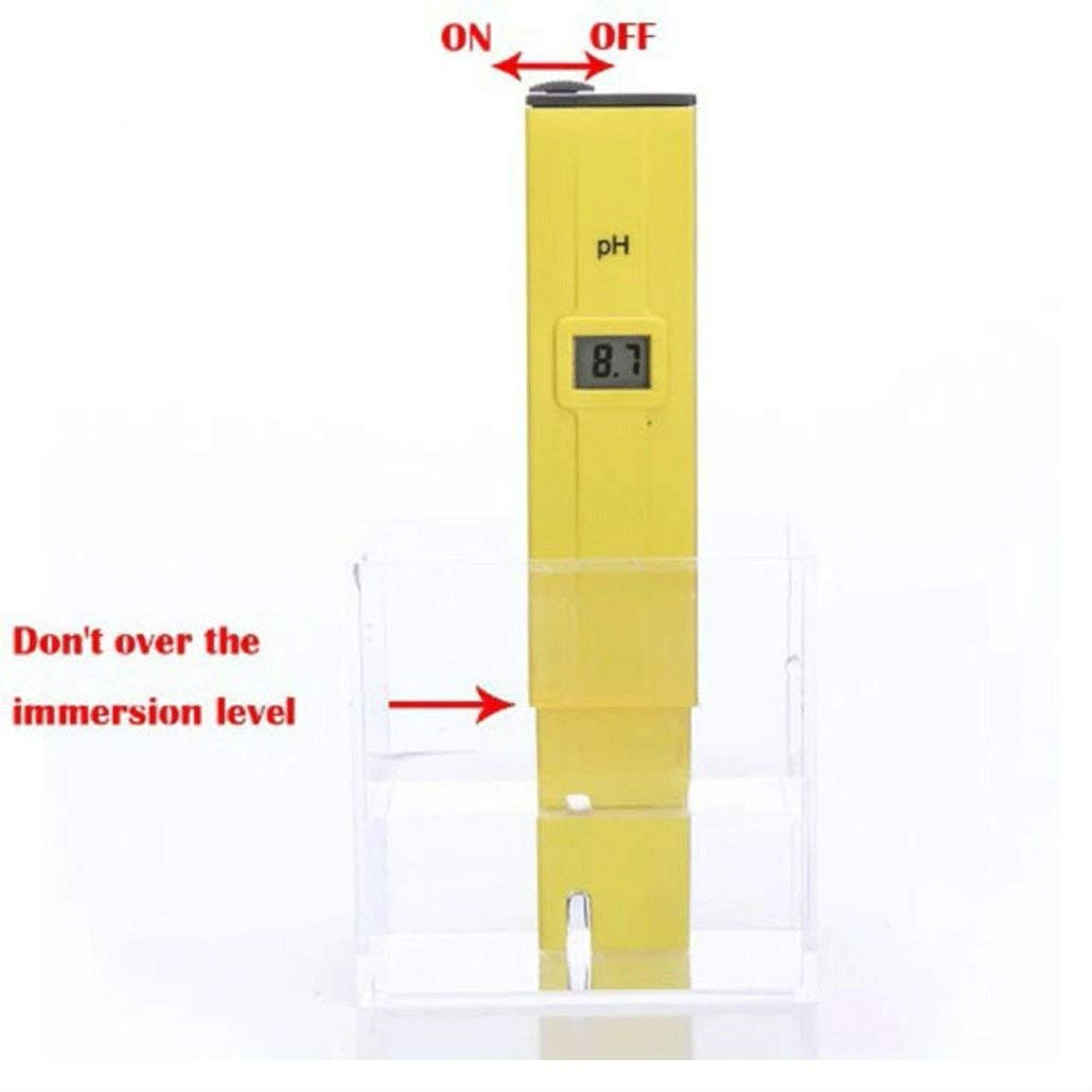 Digital PH Meter Tester Pocket Portable Pool Water Aquarium Hydroponic Wine New