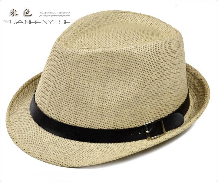 7d6270c9061 Get Quotations · 201561 SUMMER SUN straw hat Fedora Trilby Gangster Cap For  Women Summer Beach Sun hats Straw