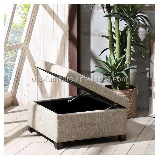 Venta al por mayor square fabric ottoman-Compre online los mejores ...