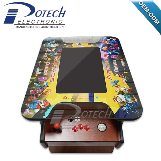 2017 new arrival 21.5 inch cocktail table machine with trackball arcade game machine support 60 in 1 game board