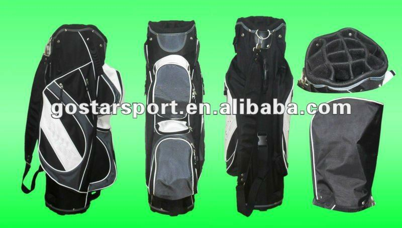 Latest New Design Nylon Golf Cart Bag