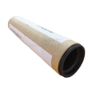 Eco-friendly Biodegradable Paper Tube Box With Paper Lid, Paper Caps
