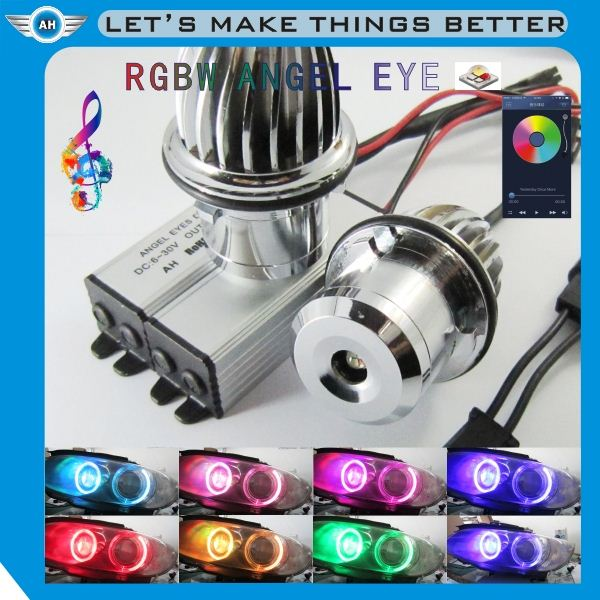 Newest Release E92 H8 LED Angel Eye RGB Multi-Color for BMW Car Headlight, H8 E92 RGB Angel Eye for BMW with Remote Controller