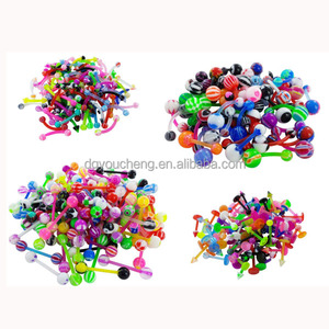 Wholesale Body Jewelry in China Eyebrow Belly Tongue Lip Rings