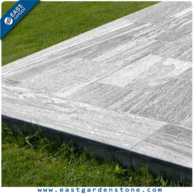 Natural pavior G302 granite edging border paving stone