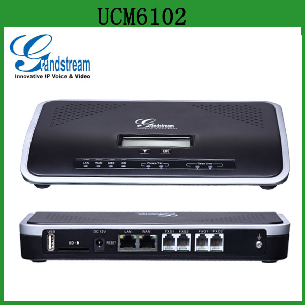 In Stock Intercome PBX System Grandstream UCM6102 SOHO IP PBX