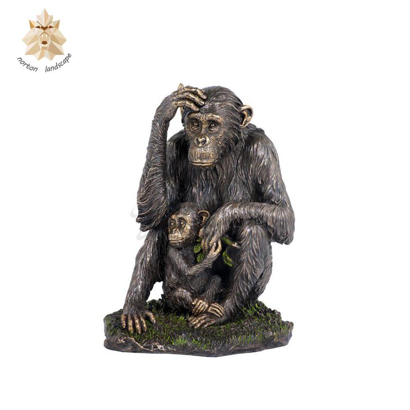 огромной статуэтка обезьяны картинки клипарт расписными елочными
