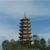 archaized steel structure buildings roof tile pagoda pavilion