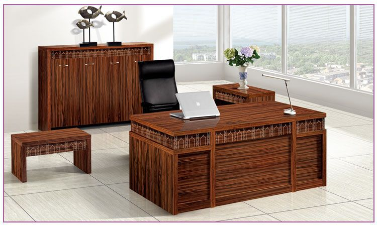 Mildewproof Melamine Cherry Wood Small Executive Office Desk Buy