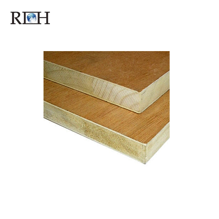 Blockboard Laminated Wood Board Film Faced Plywood Melamine Block Board for Cabinet Door Panel the Faced Board of Furniture NY-7